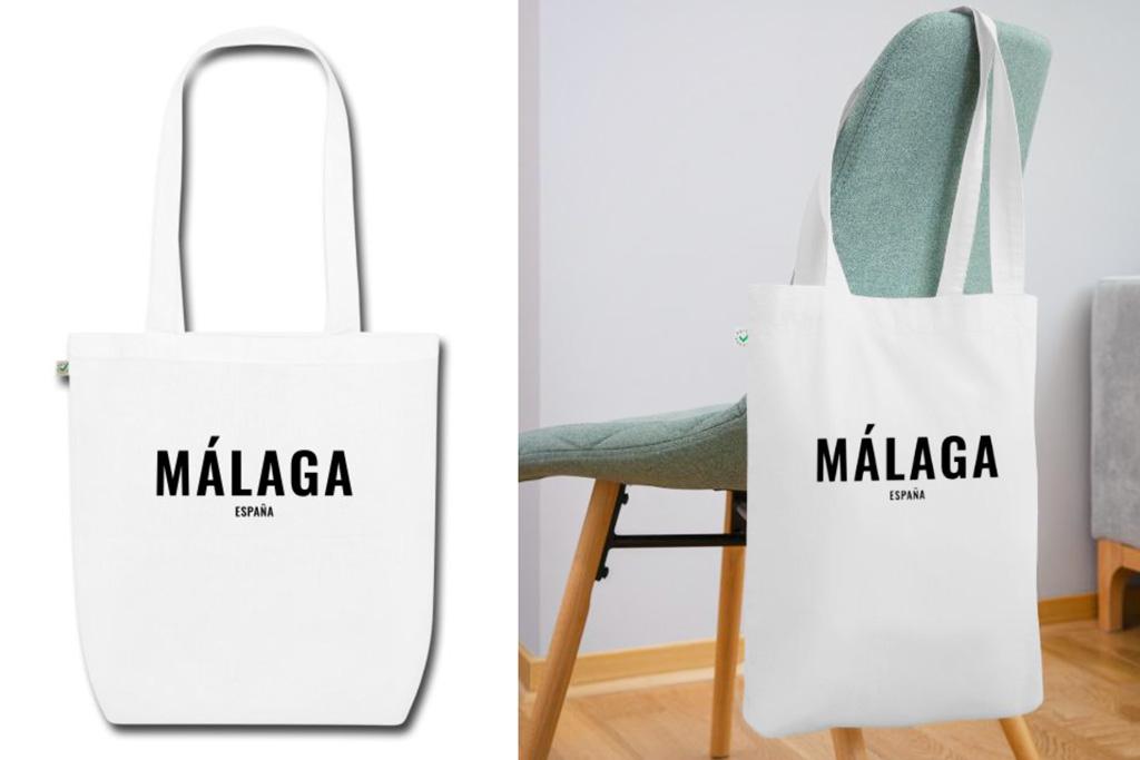 Malaga tas - Spaanse quote