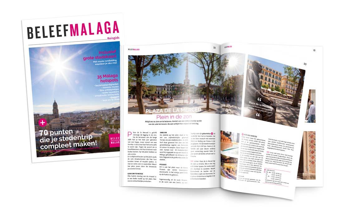 Reisgids Malaga plattegrond download