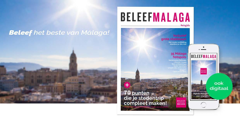 Malaga reisgids – stadsgids met plattegrond