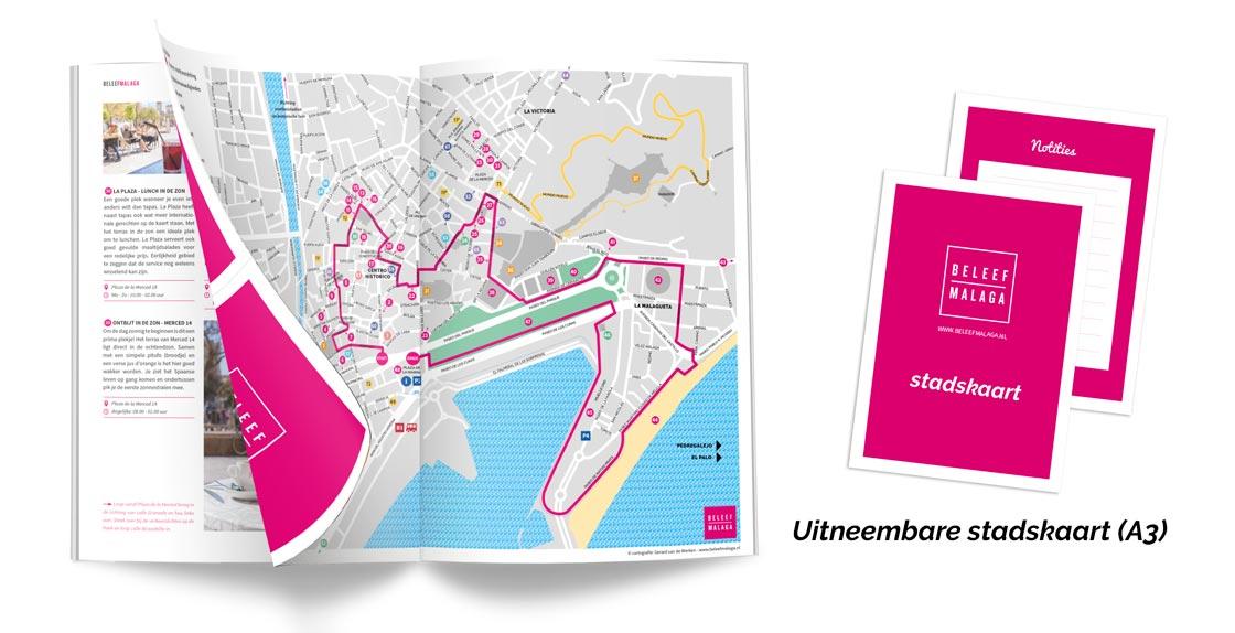 Reisgids Malaga download stadskaart - Malaga reisgids