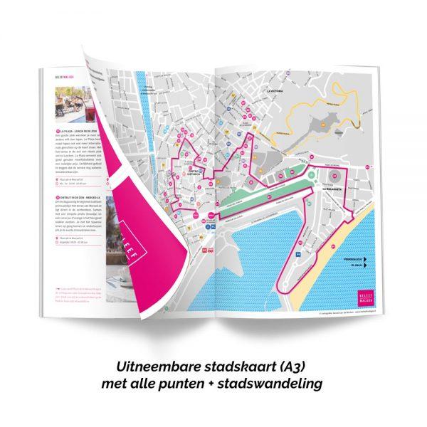 Malaga stadskaart plattegrond